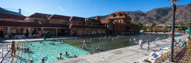 Glenwood Hot Springs Pool, Colorado