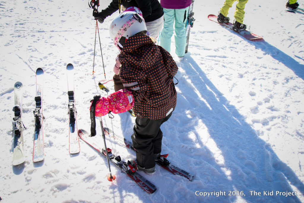 ski length for kids