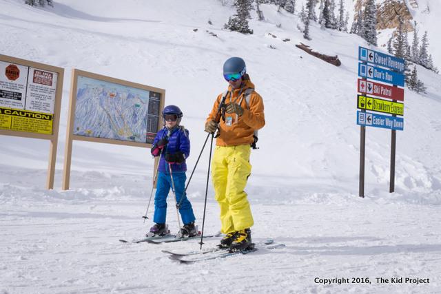 Give kids ski poles