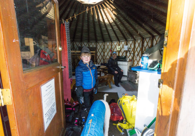 Yurt Hut Packing list