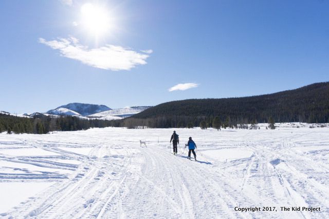 Lily Lake nordic ski