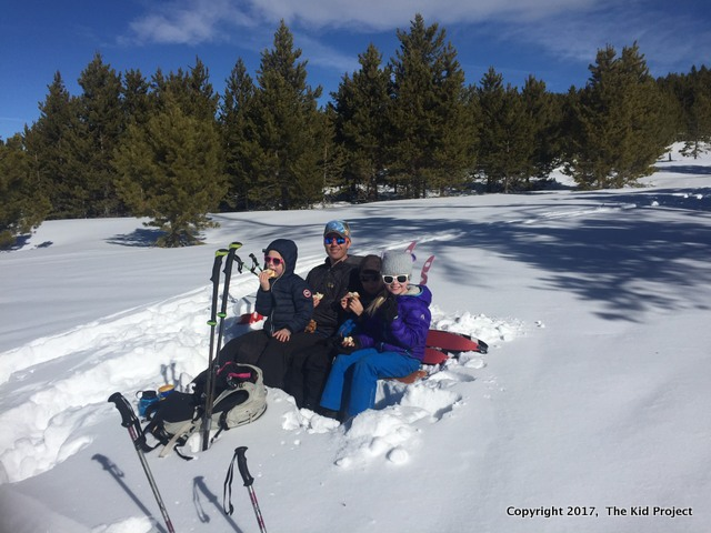 snow fun family ski