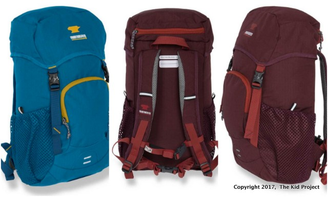 Mountain Smith kid backpack review