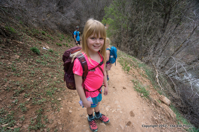 A kid s backpack that is perfect for both school and hiking outdoors  52026e65bdcba