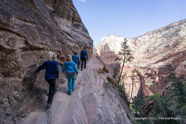 zion NP, hidden canyon