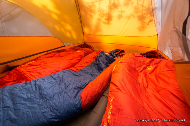 Big Agnes Copper hotel tent backpacking