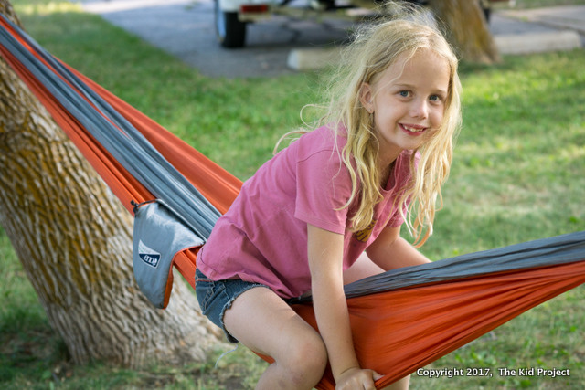 outdoor kid hammock