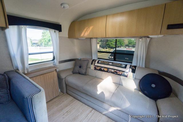 Airstream Safari living room
