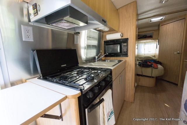 Airstream Safari Kitchen