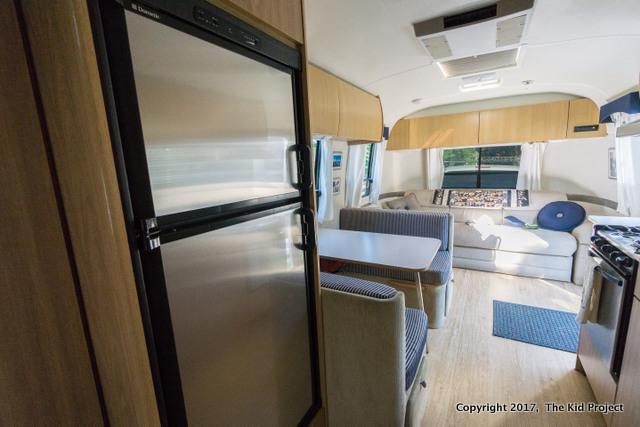 Airstream Safari refrigerator