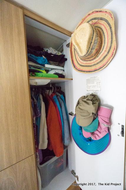 Airstream Safari closets