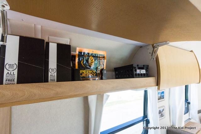 Airstream Safari food storage