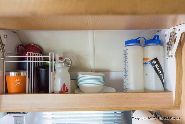 Airstream Safari Kitchen storage