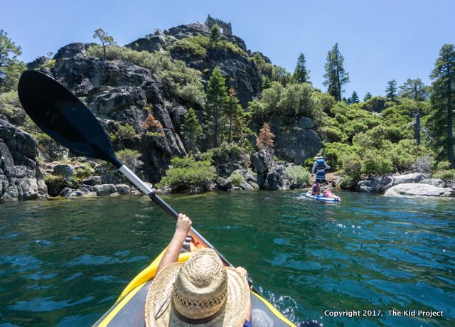Emerald Bay / Fannette Island, lake Tahoe CA