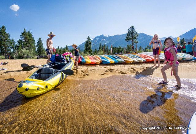 best beaches south lake tahoe