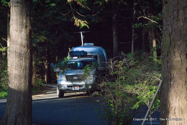 camping on oregon Coast - Cape Lookout