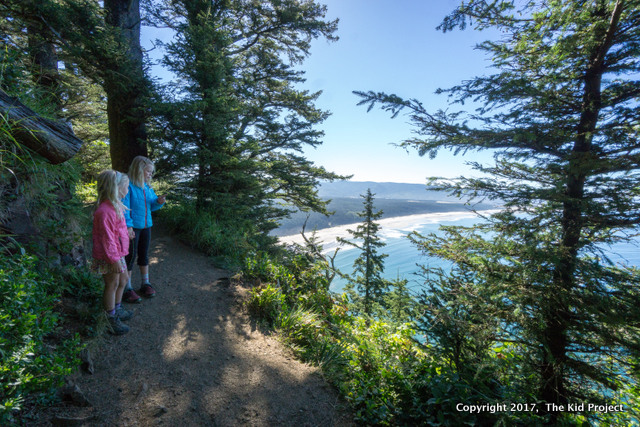hiking Cape Lookout