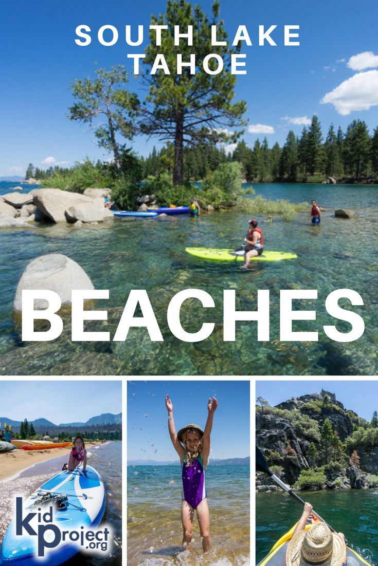 Best Beaches In South Lake Tahoe For Families, Swimming