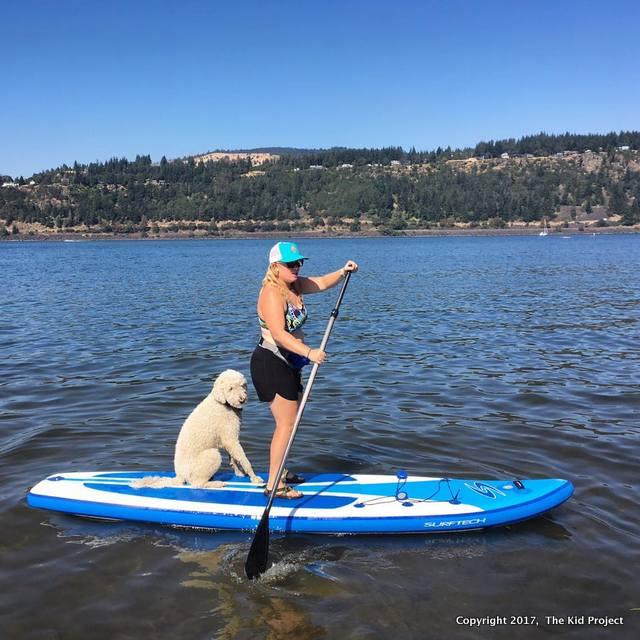 paddle boarding Hood River Oregon