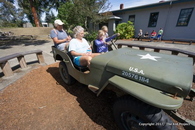 Fort Stevens history