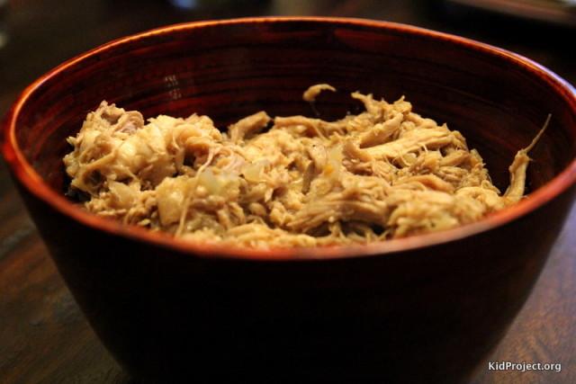 Bowl of pulled pork