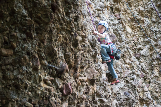climbing with kids, maple canyon, UT
