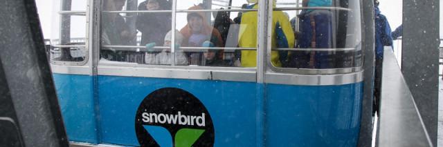 The Snowbird tram docking