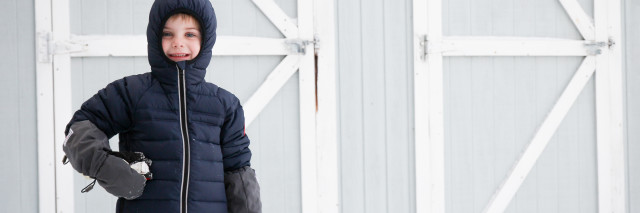 Canada Goose Bobcat Kids Down hoodie