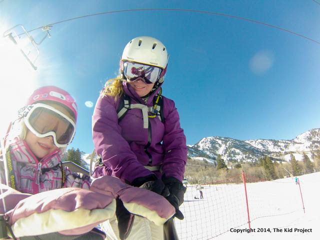 skiing with kids, beginner ski