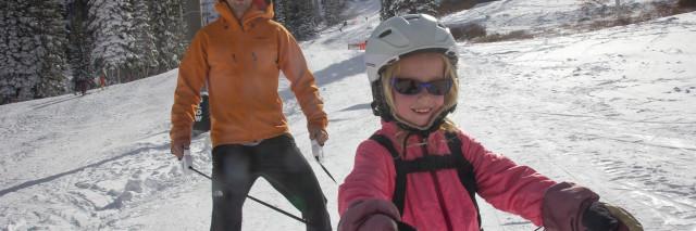4b598a437761 Gear Review  Lil  Ripper Gripper Ski Snowboard Harness - the kid project