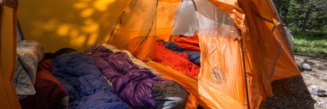 Big agnes backpacking tent family
