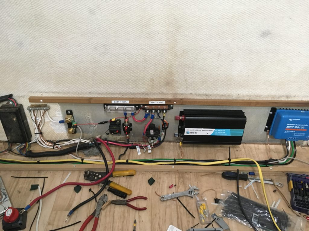 Mid-rewire of factory 12v wiring
