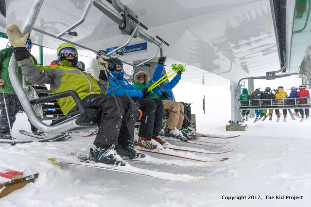 snowbasin resort new 6 pack lift,