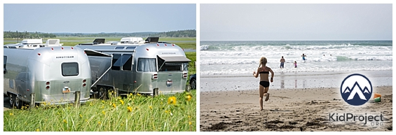 Sea-side villages and surfing?! Livin' it up in Nova Scotia